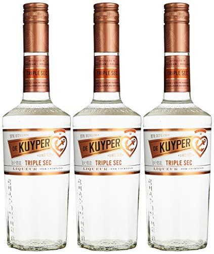 De Kuyper Triple Sec Likör (3 x 0.7 l)