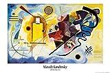 1art1 Wassily Kandinsky - Gelb Rot Blau, 1925 Poster 91 x