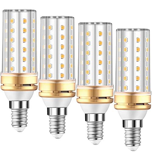 Bombilla LED E14 Luz Calida - 3000K 2000LM Equivalente Lámpara Halógena 100W...