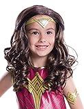 Rubie's Wonder Woman Movie Child Costume Wig