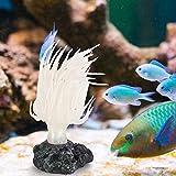 Acuario Decoración De Coral Tanque De Peces Ornamentos Corales Suave Erizo De Mar Artificial Organismo Marino