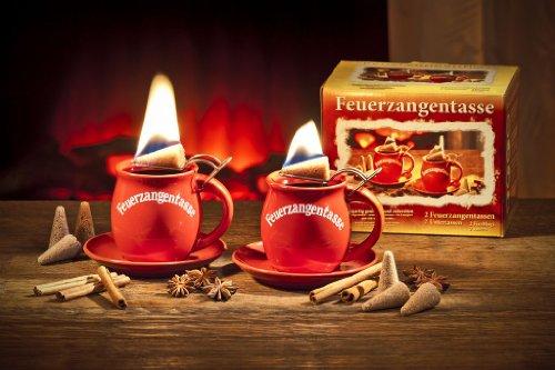 Feuerzangentassen 2er-Set (terracotta)