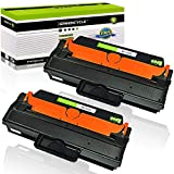 GREENCYCLE 2 Pack MLT-D115L D115L Black High Yield Toner Cartridge Compatible for Samsung Xpress SL-M2830DW SL-M2880FW SL-M2670 SL-M2620 SL-2620ND SL-2820DW SL-2820ND M2670FN M2670N M2870FD M2870FW