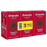 Orlando - Tomate Frito Clásico, Brik De 3 x 212 g