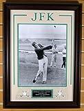 John F. Kennedy Golfing 11x14 Photo Framed Display