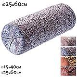 KADAX Nackenrolle, Kopfkissen mit waschbarem Bezug, geeignet für Allergiker, Kissen für Bett,...