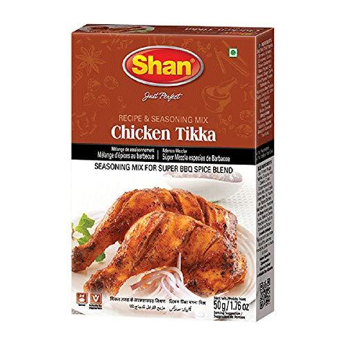 Shan pollo Tikka Masala en polvo mezcla para barbacoa, 1,7oz
