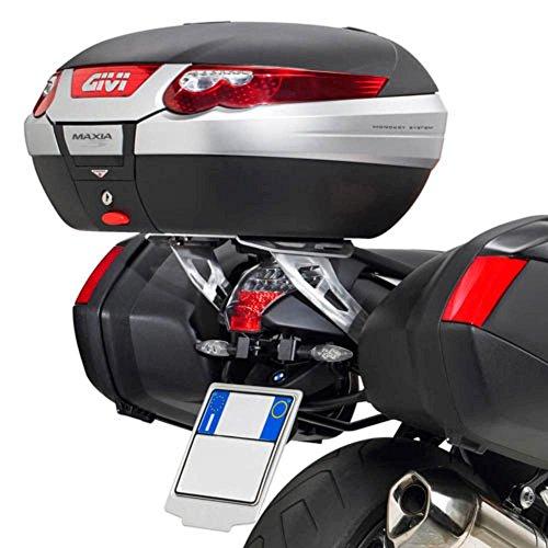 Givi SRA690 Tirante Monokey Baúl con Aluminio Placa, Carga Máxima 6 Kg