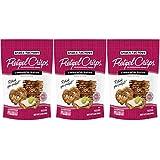 Snack Factory Cinnamon Sugar Pretzel Crisps 7.2oz (Pack of 3)