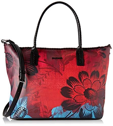 Desigual Damen Bag Sinergia Holbox Umhängetasche, Rot (Rojo Loft), 30.5x17x37 cm (B x H x T)