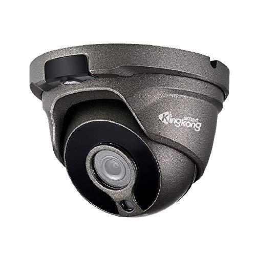 KingKongSmart Onvif Cámara IP de 4 MP PoE CCTV con Audio,...