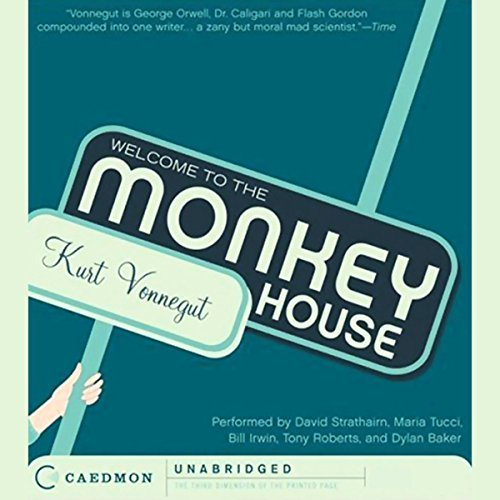 Welcome to the Monkey House  audiobook cover art