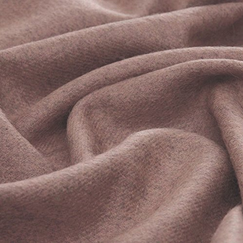 Lorenzo Cana High End Alpakadecke aus 100% Alpaka - Wolle vom Baby - Alpaka flauschig weich Decke Wohndecke Sofadecke Tagesdecke Kuscheldecke