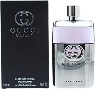 Gucci Perfume - Guilty Platinum by Gucci - perfume for men - Eau de Toilette, 90ml