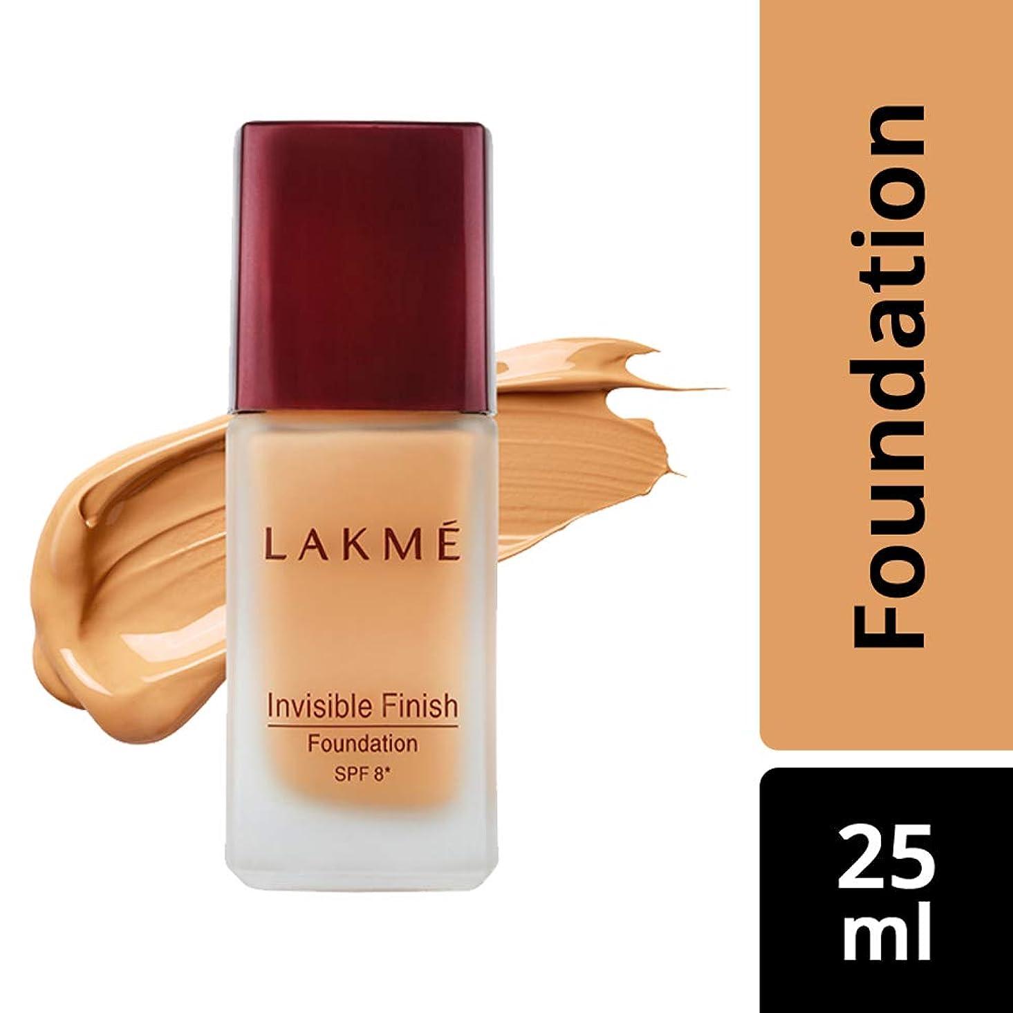 演じるヘビー護衛Lakme Invisible Finish SPF 8 Foundation, Shade 01, 25 ml