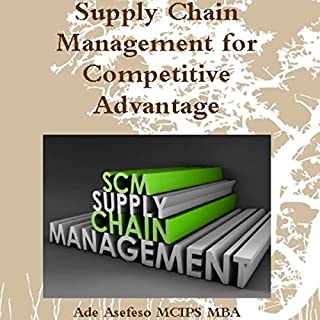 Supply Chain Management for Competitive Advantage audiobook cover art