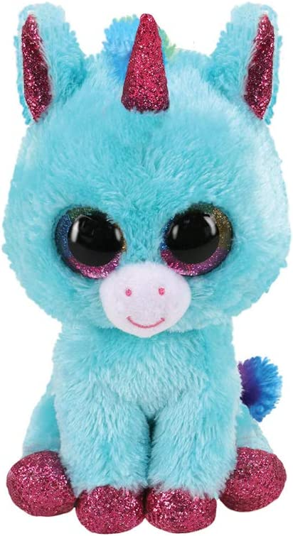 Stuffed Squirrel Animals, Amazon Com Claire S Official Ty Beanie Boo Ariella The Unicorn Soft Plush Toy For Girls Blue And Pink Small Stocking Stuffer 6 Inches Ty Beanies Toys Games