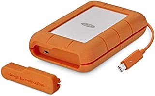 LaCie 萊斯Rugged 2 TB便攜式硬盤 (USB 3.0, USB 3.1, USB-C, Thunderbolt)