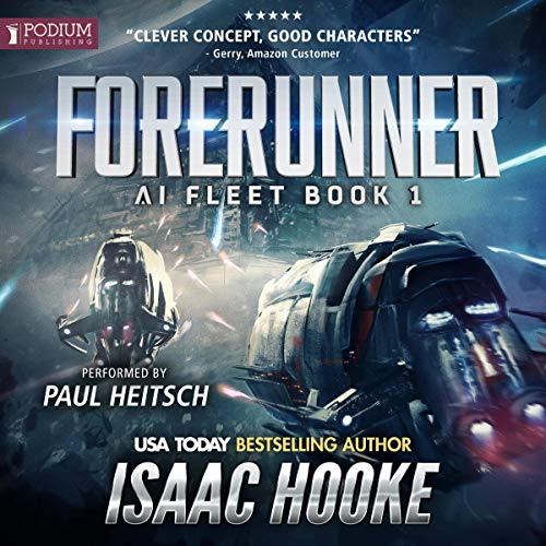 Forerunner audiobook cover art