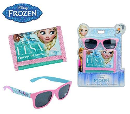 Kids Licensing–wd17039–Regalo Set di occhiali da sole/portafoglio–Frozen