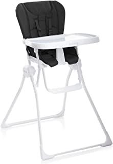 all white high chair