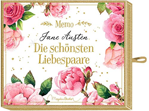 Schachtelspiel – Memo - Jane Austen - Die schönsten Liebespaare