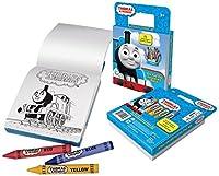 Thomas Train On The Go 塗り絵アクティビティパック ジャンボクレヨン8本付き