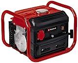 Einhell Generador eléctrico (gasolina) TC-PG 10/E5 (máx. 800 W, limpio motor de tracción de 2 tiempos, toma de corriente de 230 V, 4 L tanque, tracción del cable para el arranque)