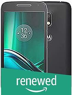 (Renewed) Motorola G4 XT1624 (Black, 16GB)