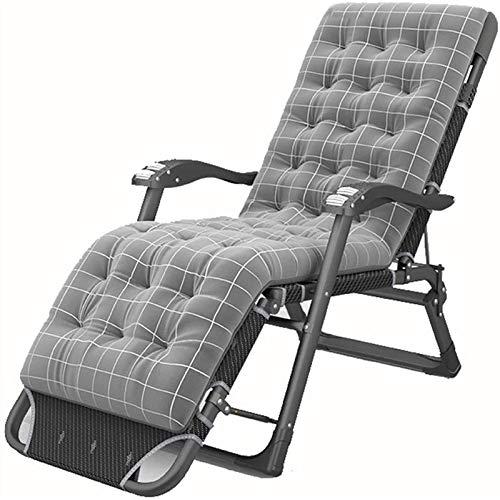 LLSS Sillón reclinable Plegable, Tumbona Plegable Sillas reclinables para jardín Sillas relajantes reclinables Ajustables Sillas para Acampar al Aire Libre, Tumbona