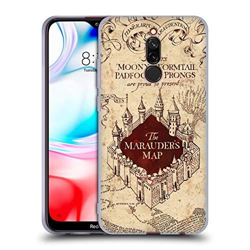 Head Case Designs Oficial Harry Potter The Marauder's Map Prisoner of Azkaban II Carcasa de Gel de Silicona Compatible con Xiaomi Redmi 8