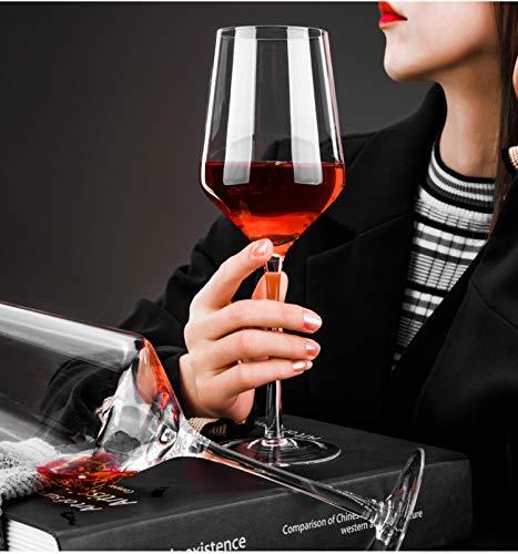 デカンタ ワイングラスセット クリスタルデカンタ ギフトセット クリスタルグラス 赤ワイン 白ワイン 化粧箱入れ 440ml 2個・1350ml 1個 日本食品検査合格 Lazysong