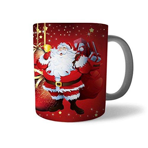 Tazza di Natale Idea Regalo Natalizia Babbo Natale Felice
