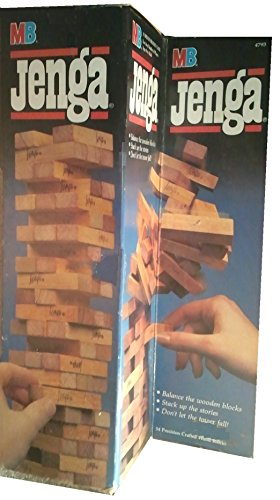 Milton Bradley Jenga (1986 Edition)
