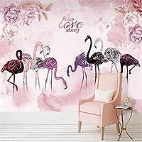 写真の壁紙3D立体空間カスタム大規模な壁紙の壁紙 北欧の鳥の壁の装飾リビングルームの寝室の壁紙の壁の壁画の壁紙テレビのソファの背景家の装飾壁画-200X140cm(78 x 55インチ)