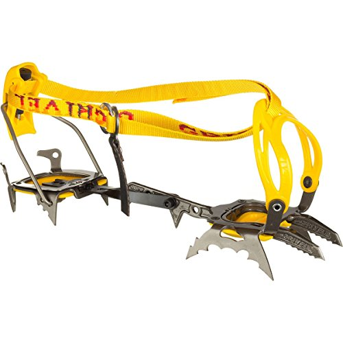 Grivel G22 Ice New-Matic Technical Crampon, Yellow, one Size