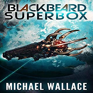 Blackbeard Superbox                   By:                                                                                                                                 Michael Wallace                               Narrated by:                                                                                                                                 Steve Barnes                      Length: 46 hrs and 53 mins     114 ratings     Overall 4.6