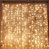 Twinkle Star 300 LED Window Curtain String Light Wedding Party Home Garden Bedroom Outdoor Indoor Wall...