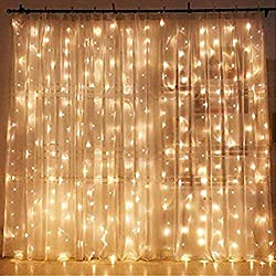 curtain fairy lights photography