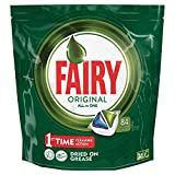 Fairy Original, Pastillas Lavavajillas, 84 Cápsulas, All in One Máximo Poder Quitagrasa
