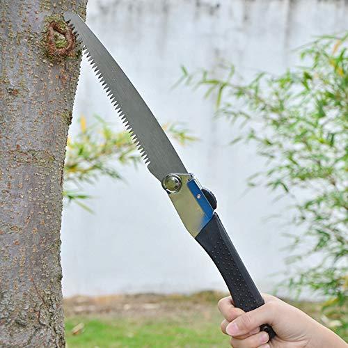 XiaoOu Scies pour Le Travail du Bois Portable Pliant Camping Scie de Survie Sharp Steel Bois scie à métaux élagage des Arbres Coupe Couteau de scie Outil de Coupe de Jardin Main