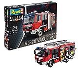 Revell Maqueta Man TGM/Schlingmann HLF 20 VARUS 4x4, de extinción de Incendios, Kit Modello, Escala 1:24 (07452), 36,3 cm de Largo
