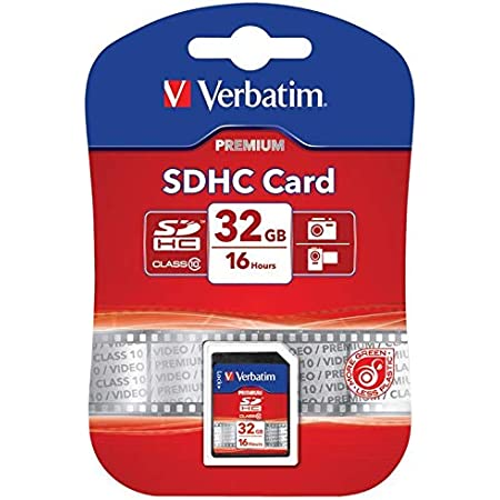 Verbatim Premium U1 Sdhc 8 Gb Speicherkarte Class 10 Computer Zubehör