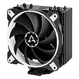 ARCTIC Freezer 33 eSports ONE - Refrigerador para torre CPU con ventilador PWM de 120 mm para Intel y AMD, hasta 200 vatios TDP, silencioso - Blanco