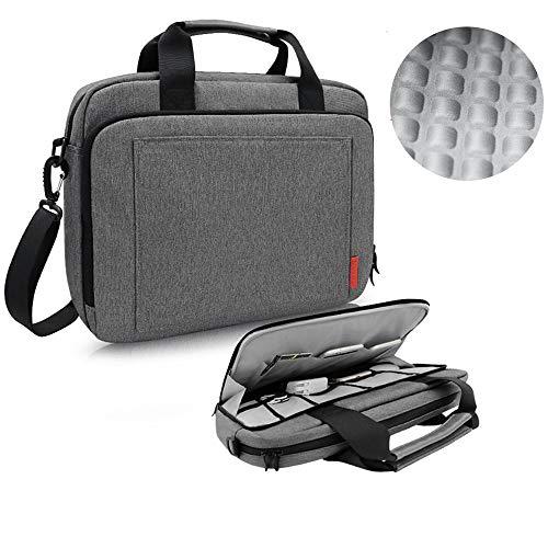 iCozzier 13,3-14 Zoll Laptoptasche mit Handgriff und Schultergurt Sowie Schutzhülle Botetasche mit Elektronik Zubehör Lagerung für Ultrabook/Notebook/MacBook
