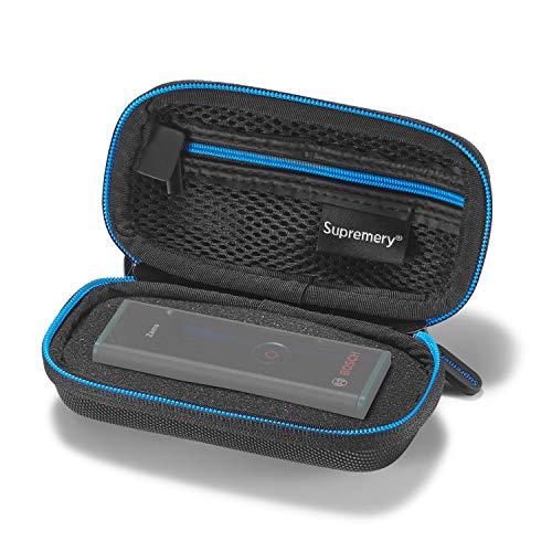Supremery Case für Bosch Laser-Entfernungsmesser Zamo Case Tasche Schutzhülle Etui mit Netztasche für weiteres Zubehör für Bosch Zamo