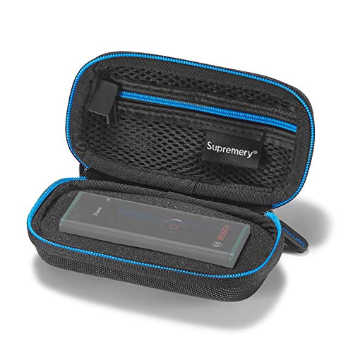 Supremery case voor Bosch laserafstandsmeter Zamo case pocket beschermhoes met gaasvak voor extra accessoires voor Bosch Zamo