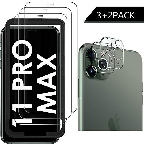 test Luibor für iPhone 11 Pro Max Gehärtetes Glas + gehärtetes Kameraglas, transparent, kratz- und staubdicht… Deutschland