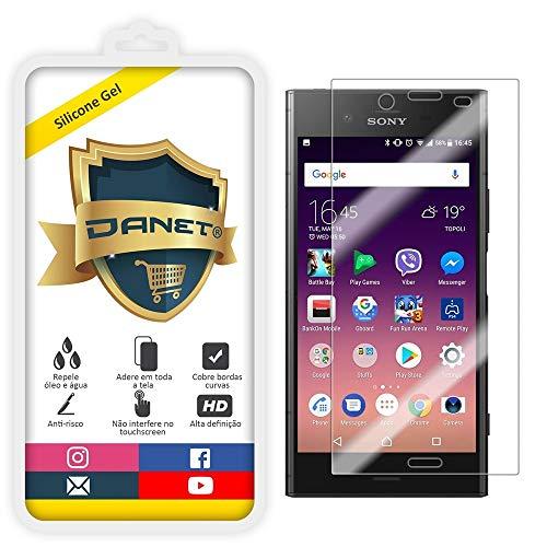 Película de Gel Silicone Flexível Para Sony Xperia Xz1 com Tela de 5.2 Polegadas - Proteção Que Adere E Cobre Toda A Tela - Danet