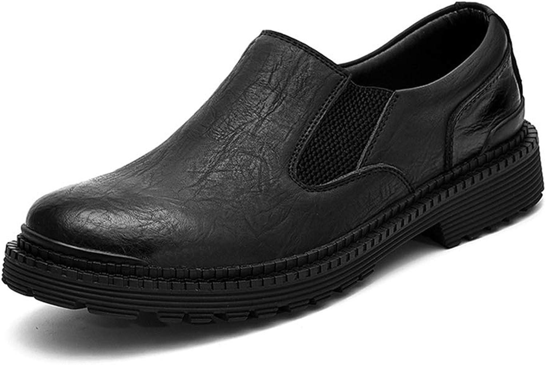 Men's shoes,Leather Autumn Men's Business shoes, Leather, Feet, Outdoor Men's shoes Formal Business Work (color   A, Size   40)